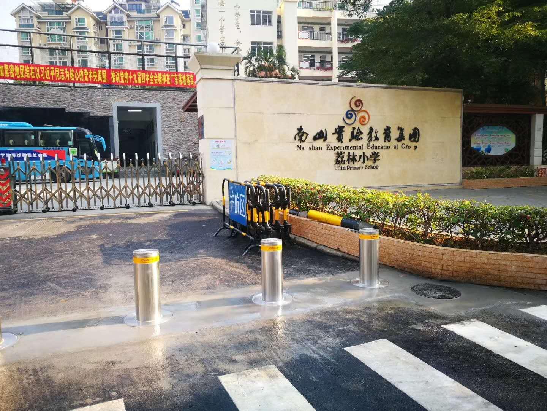 深圳小学门kou升降防zhuangzhu