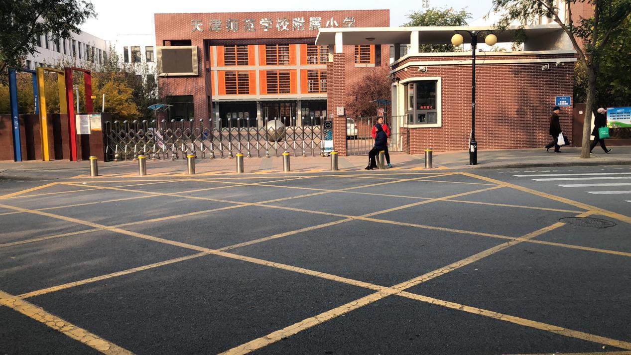 天津师范学校附属小学升降柱案例