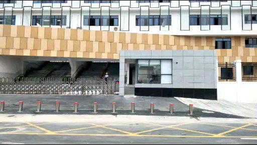 深圳市坪山区马峦小学防撞路柱